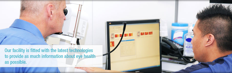 Our facility is fitted with the latest technologies to provide as much information about eye health as possible.