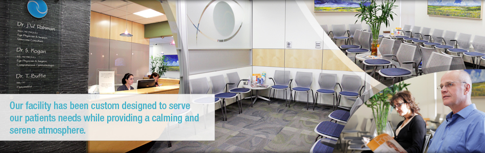 Our facility has been custom designed to serve our patients needs while providing a calming and serene atmosphere.